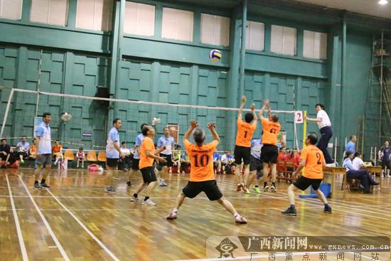 广西全运会群体选拔赛:将揭晓谁是广西气排球球王