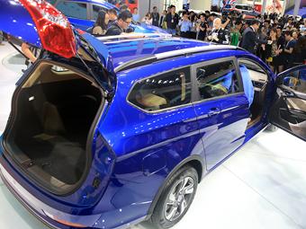 4款柳产新车亮相上海车展