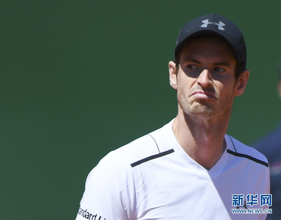 (体育)(1)网球――蒙特卡洛大师赛:穆雷无缘八强