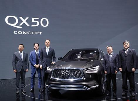 英菲尼迪全新2.0升VC-Turbo发动机上海车展中国首秀