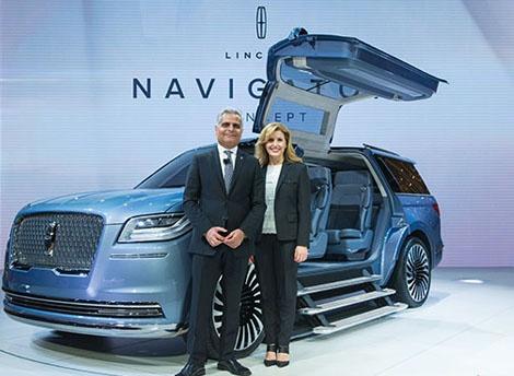 新款林肯MKZ H混动版上市 Navigator概念车亮相上海车展