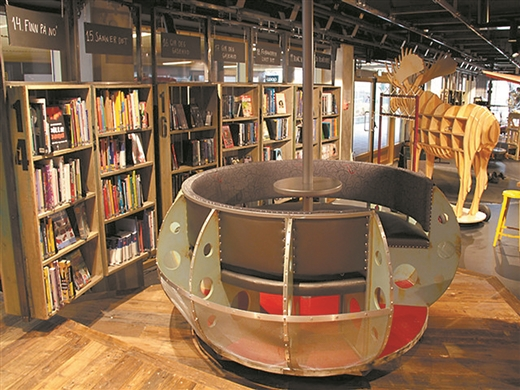 """挪威第一所少儿专属图书馆 变身""""造梦空间"""""""