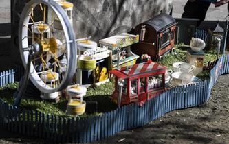 老鼠微型游乐园