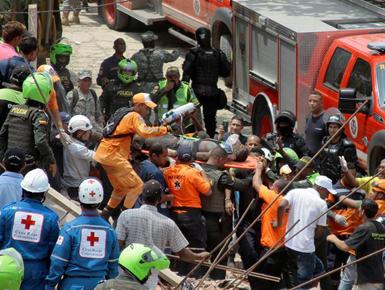 哥伦比亚发生房屋坍塌事故