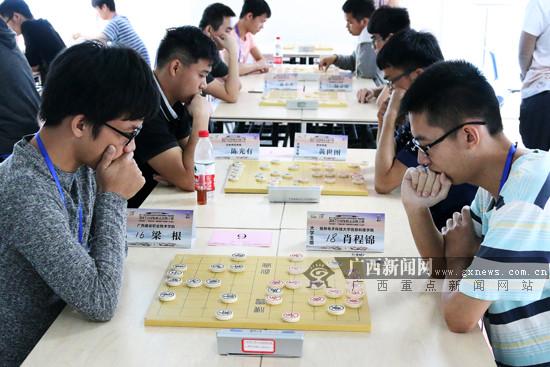 广西全运会象棋选拔赛:大学生组和女子组人选诞生