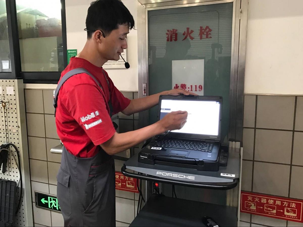 深耕售后服务领域 保时捷售后服务体验活动南宁站