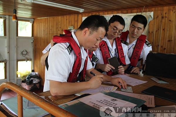 百色海事局2017年右江干线巡航活动在平果启动