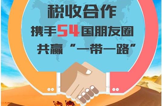"""税收合作携手54国朋友圈共赢""""一带一路"""""""