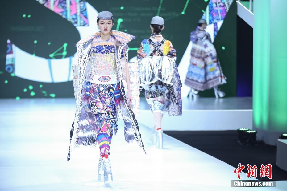 2017中国国际大学生时装周首秀北京举行图片