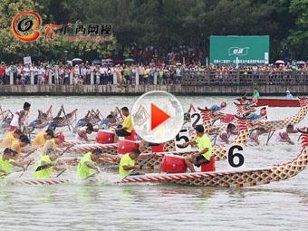 2017中国·东盟龙舟赛将在南宁南湖开启