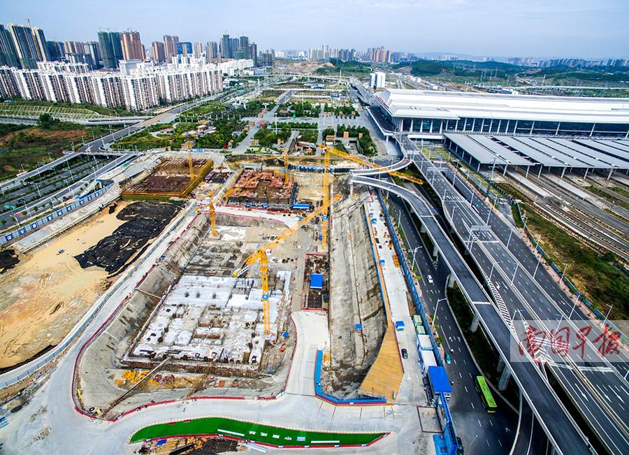广西最大客运枢纽南宁凤岭客运站明年10月建成(图)