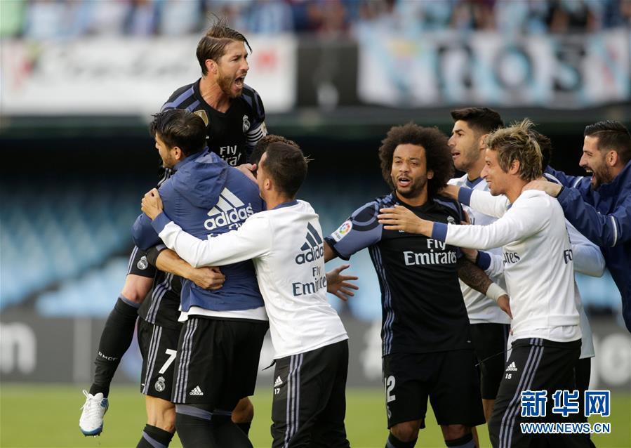 (体育)(2)足球――西甲:皇马胜塞尔塔