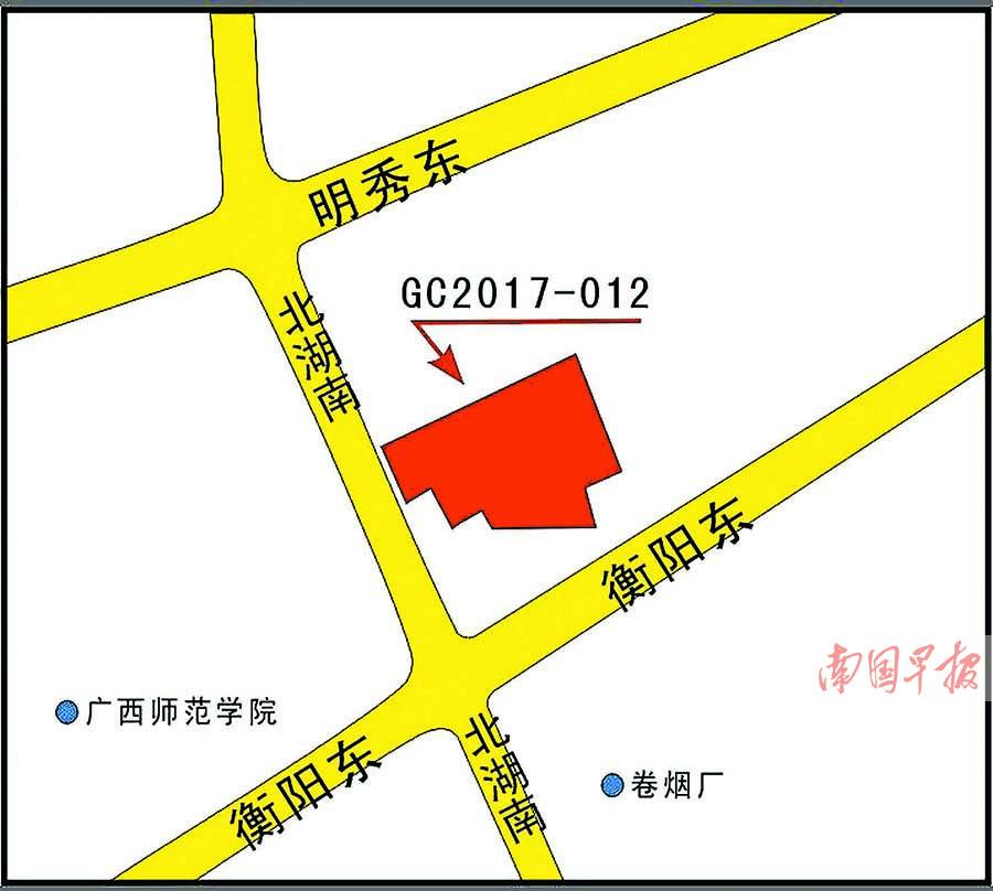 南宁北湖旧城改造地成交 原旧货市场或建精装住宅