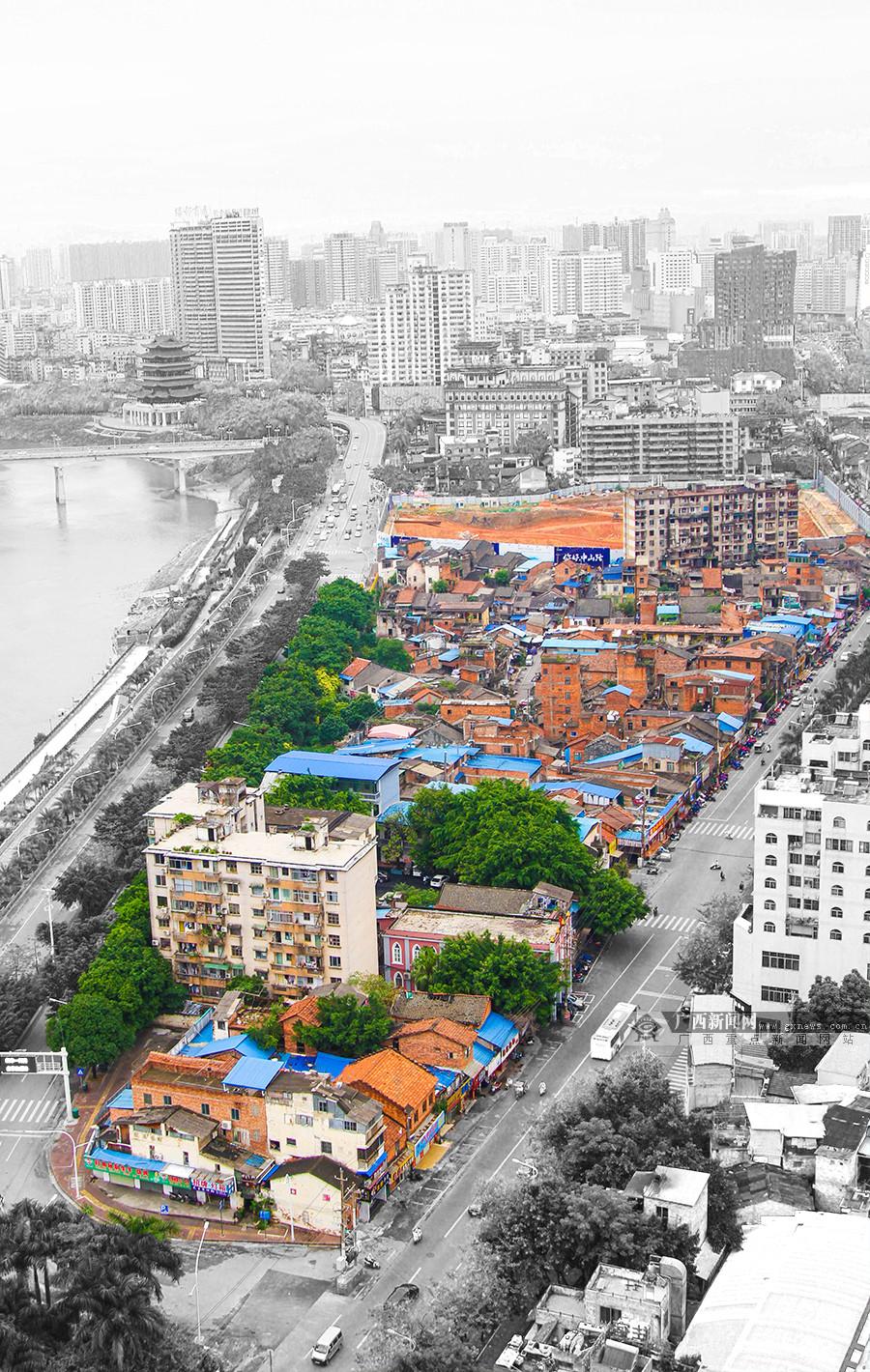 """高清:高楼掩映下即将消失的城市""""记忆"""""""