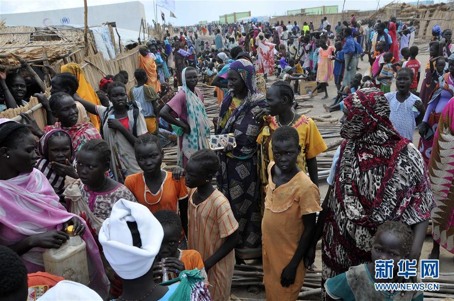 (国际)(1)探访苏丹白尼罗州的南苏丹难民营