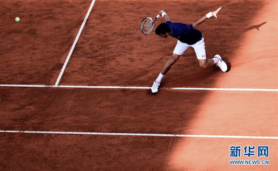 (体育)(4)网球――意大利公开赛:焦科维奇晋级八强
