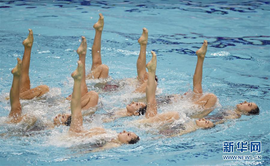 (全运会)(11)花样游泳——集体项目预赛赛况