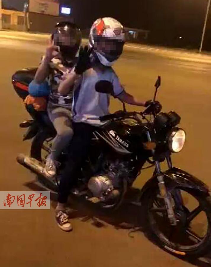 广州少年冒险摩旅进藏 广西车友极力劝阻返家(图)