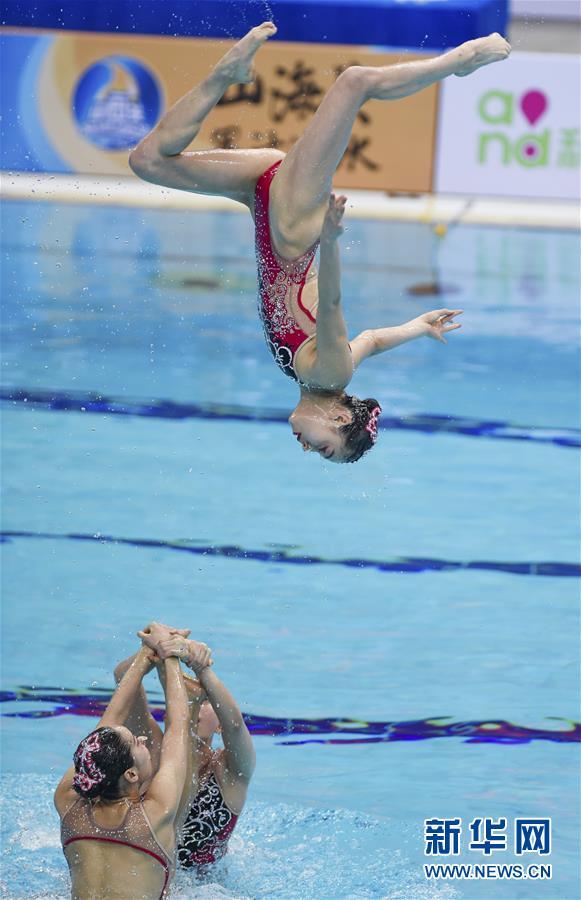 (全运会)(8)花样游泳——集体项目预赛赛况