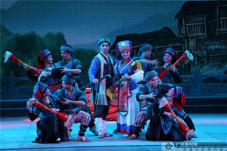 广西戏剧院京剧《油茶御史》亮相南京