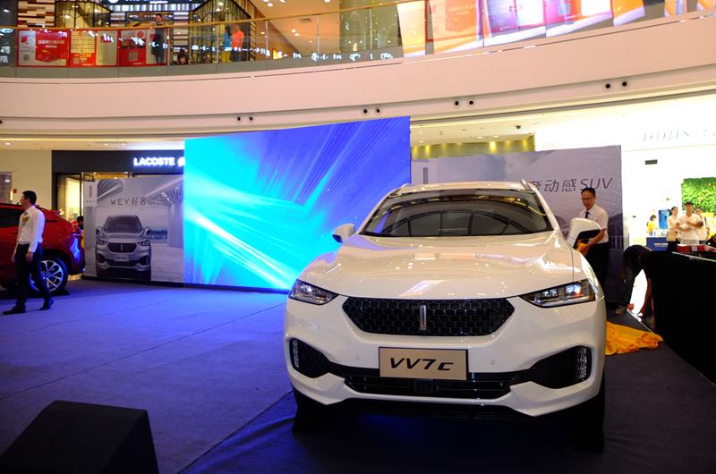 轻奢汽车品牌WEY登陆南宁 两款车型同步上市