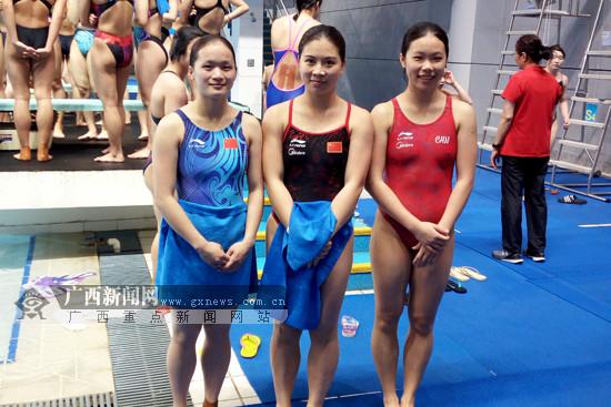 跳水冠军赛暨全运预赛:广西再获3席全运决赛资格