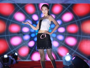 """济南高校模特大赛""""妙""""字当先"""