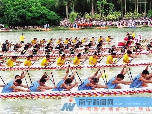 南宁景区推出丰富多彩的端午活动 传统文化融其中