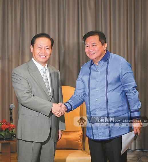 中国(广西)-菲律宾企业家交流会在马尼拉举行