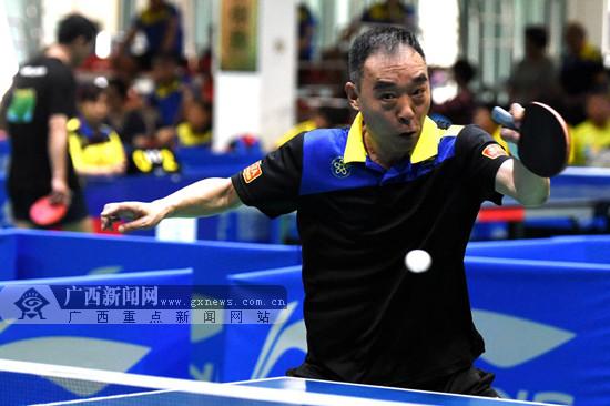2017年中国乒乓球协会会员联赛第7站在桂林举行