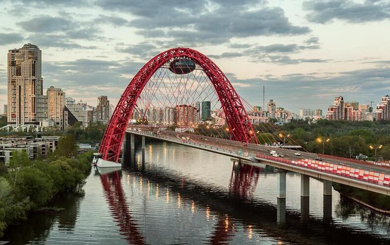 莫斯科的风景桥