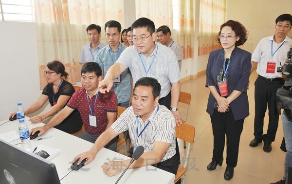 北海市11169名考生参加高考(图)-广西新闻网
