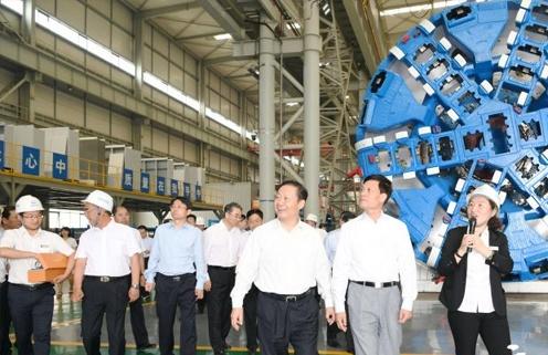 考察心语|中国中铁工程装备制造业世界第二 中国第一