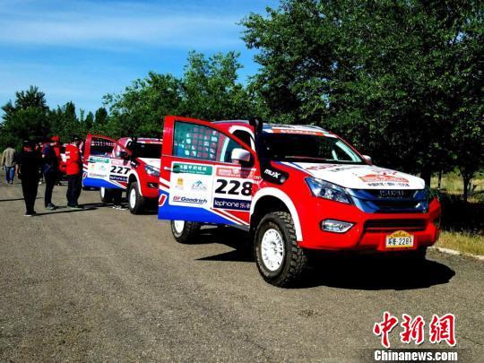 2017中国环塔(国际)拉力赛在新疆塔城拉开帷幕