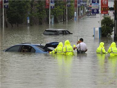 贵州出现强降雨天气