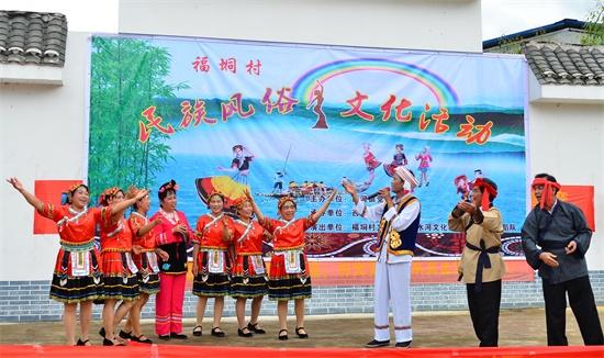 广西蒙山:举办民俗活动用山歌传唱新生活