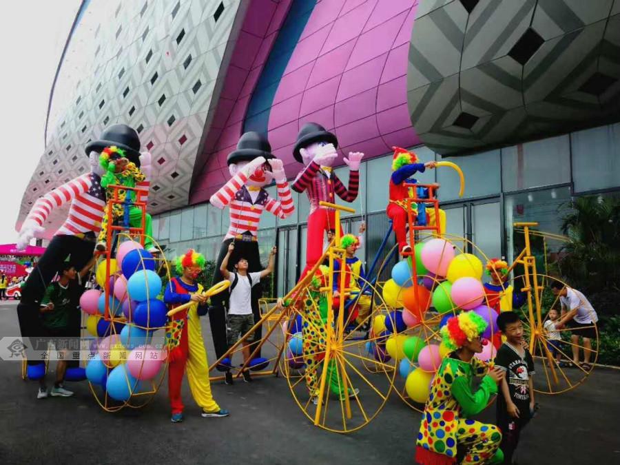 南宁万达茂6月17日盛大开业 集文旅商街为一体