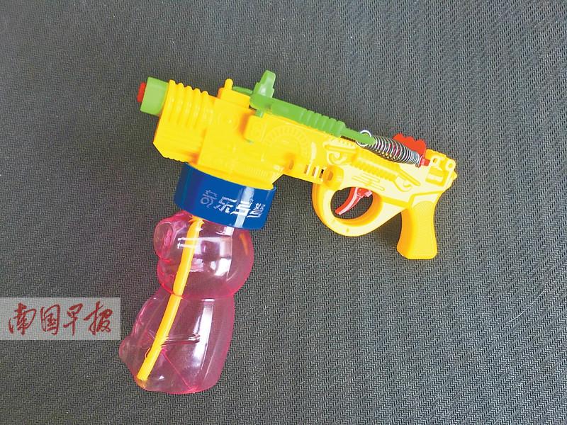 """6月18日焦点图:南宁出现""""牙签弩""""危险玩具"""