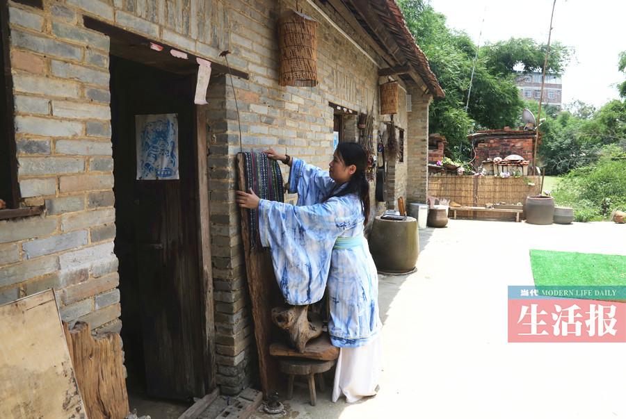 儿童手工制作农村小院