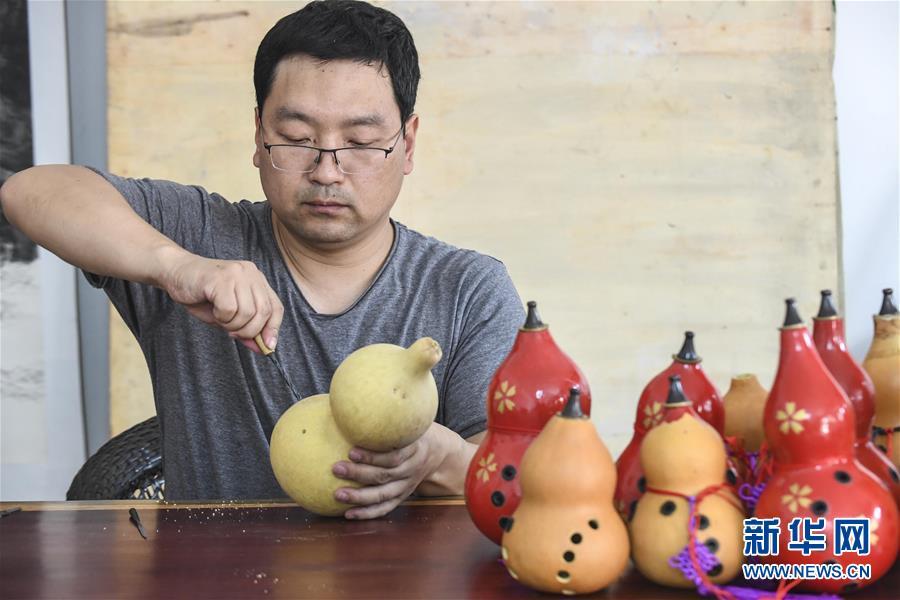 (文化)(1)张志远:葫芦做乐器获国家专利