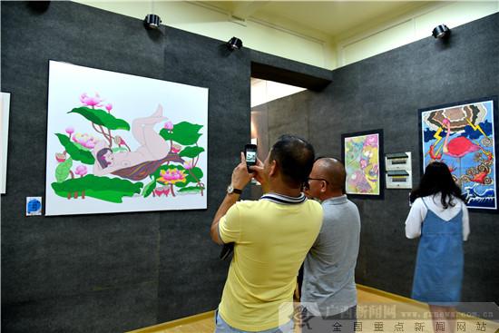 西大艺院举办刘爽研究生及本科生课程设计作品展