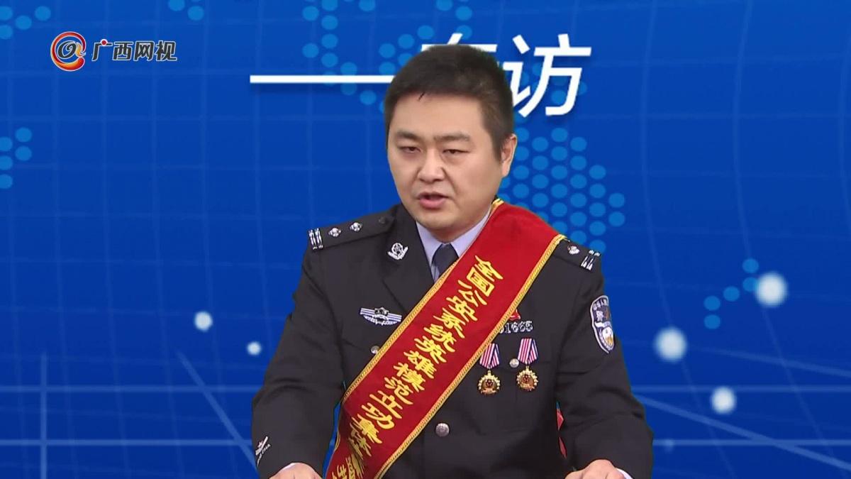专访全国公安系统英雄模范――李江晖