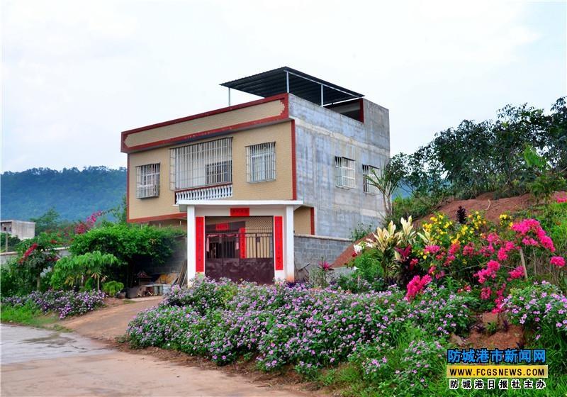 花园式农家小院.韦世仙 摄-上思 建美丽乡村 筑和谐家园 组图