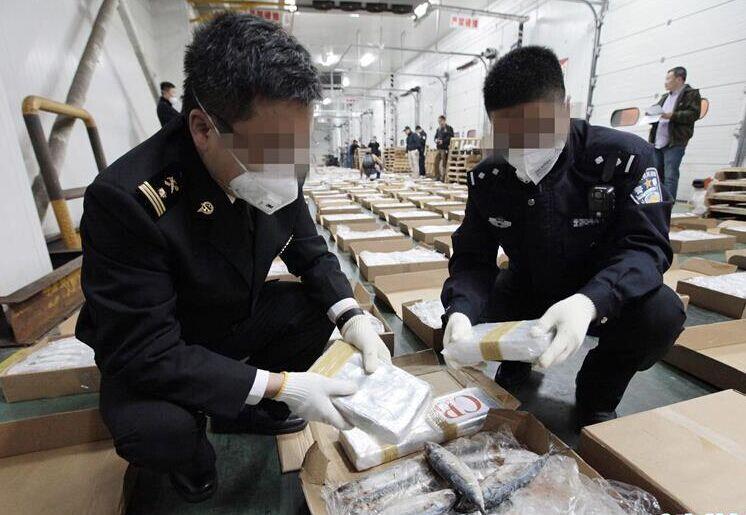 中柬合作查获1.1吨可卡因
