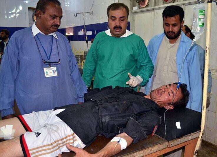 巴基斯坦发生爆炸袭击事件