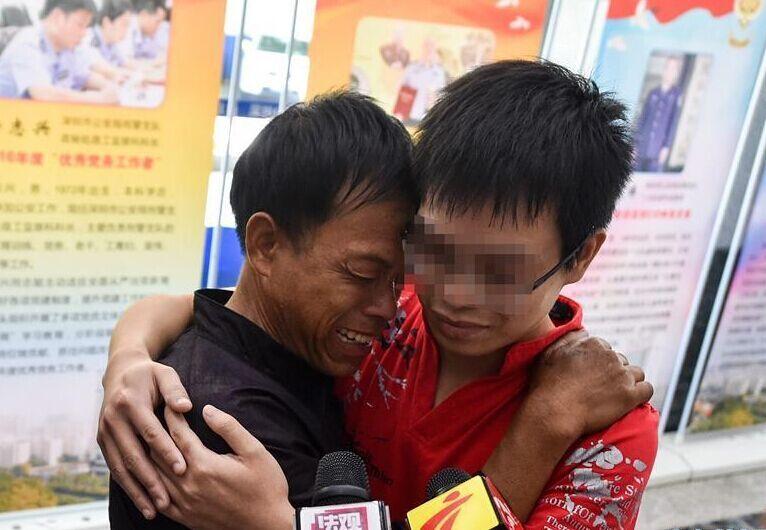 被拐19年 男子寻回亲人