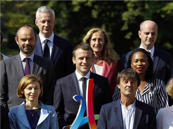 法国宣布改组后的内阁成员名单
