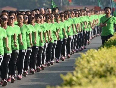 健步走倡导健康生活