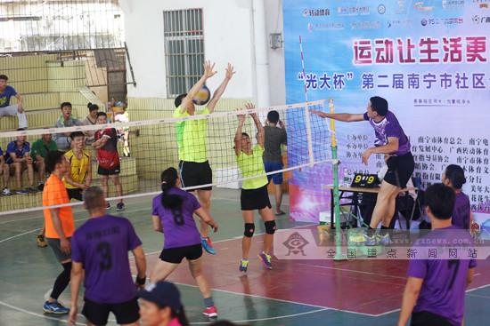 南宁市社区运动会西乡塘站受热捧 下周走进邕宁区