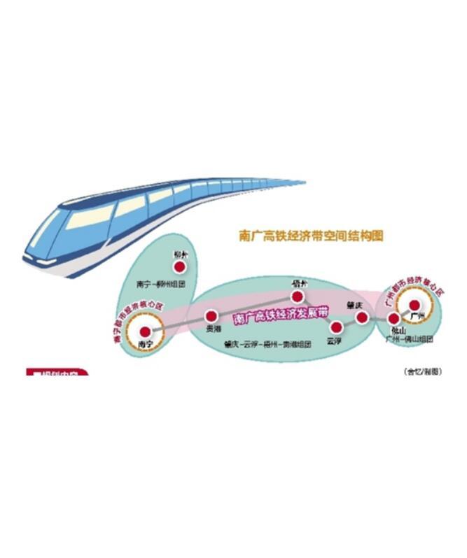 南广高铁经济带发展规划印发实施 涵盖哪些城市?